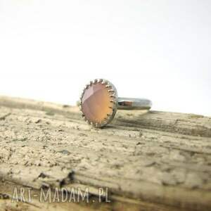 pierścionek delikatny srebrny
