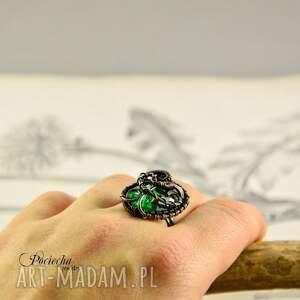 regulowany pierścionki demeter - pierścionek