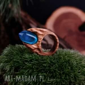 atrakcyjne drewniany pierścień lączony