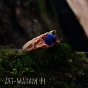 Drzewiec Drewniany pierścień lączony z żywicą Druid s ring las