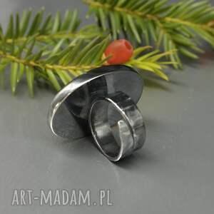 niebanalne regulowany elegancki pietersit pierścionek