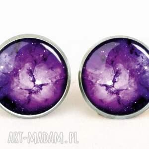 pierścionek pierścionki fioletowa nebula