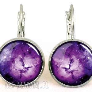pierścionki regulowany fioletowa nebula - pierścionek