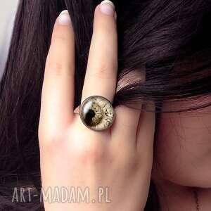 niesztampowe pierścionki folk - pierścionek regulowany