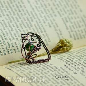 duży-pierścionek pierścionki green geometry - duży pierścionek