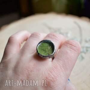trendy pierścionek regulowa piękny, surowy stworzony