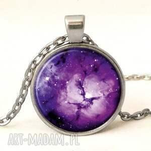pierścionki fioletowa nebula - pierścionek