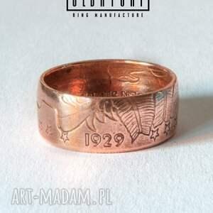 niebanalne pierścionki boho indian - rękodzielniczy pierścień