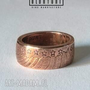 miedź pierścionki indian - rękodzielniczy pierścień