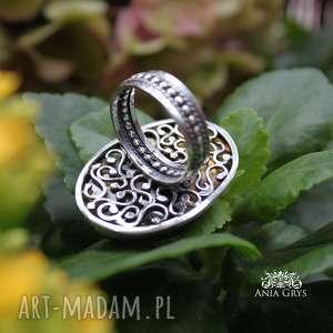 oksydowany pierścionki jedyny taki pierścionek
