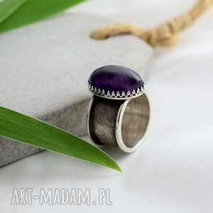 pierścionki pierścień jego wysokość ametyst
