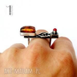 metaloplastyka jurata - srebrny pierścionek