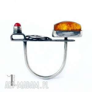 srebro jurata - srebrny pierścionek