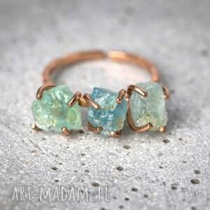 ciekawe pierścionki kamień 925/18k różowo pozł. pierścionek
