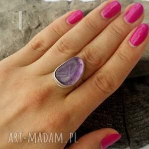 pierścionki metaloplastyka kandela - srebrny pierścień