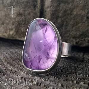 pierścionki srebro kandela - srebrny pierścień