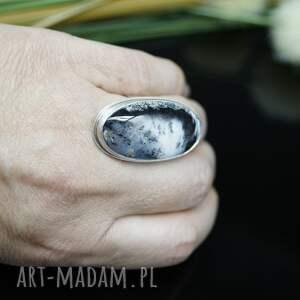 duży klasyczna elegancja - pierścionek
