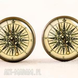 pierścionki pierścionek kompas - regulowany