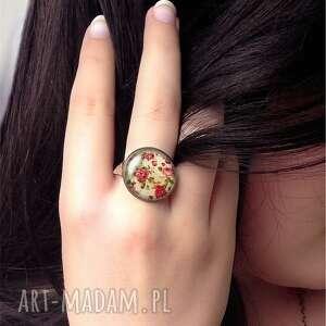 handmade pierścionki pierścionek kosmos - regulowany