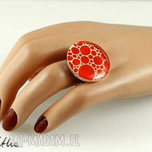 pierścień kropki - pierścionek