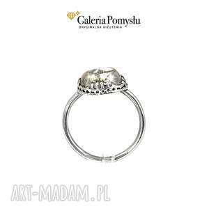pierścionek kwarc rutylowy