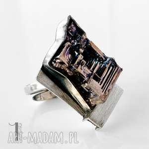 srebrne labirynt srebrny pierścień z
