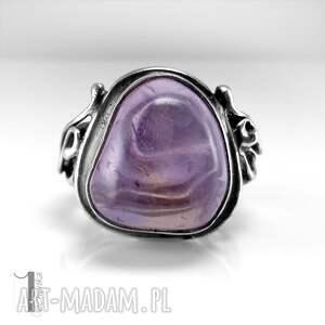 pierścionki pierścionek lavender srebrmy
