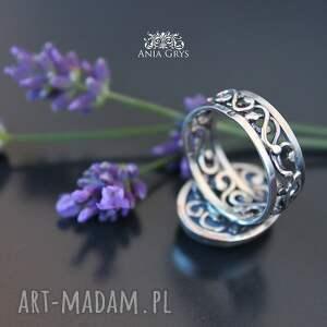 unikatowe pierścionki chalcedon lawendowy.. pierścionek