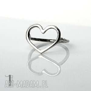 szare pierścionki pierścionek-srebrny lovestory i - srebrny pierścionek