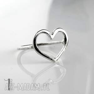 unikalne pierścionki pierścionek-srebrny lovestory i - srebrny pierścionek