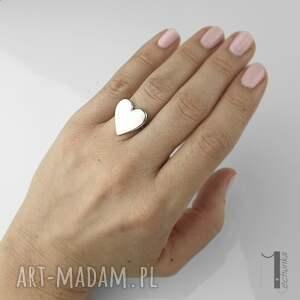 handmade pierścionki walentynki lovestory - srebrny pierścionek