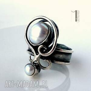 urokliwe pierścionki metaloplastka lucanus i - srebrny pierścionek