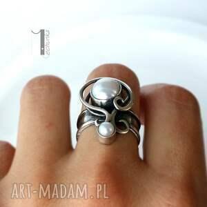 ślub pierścionki lucanus i - srebrny pierścionek z