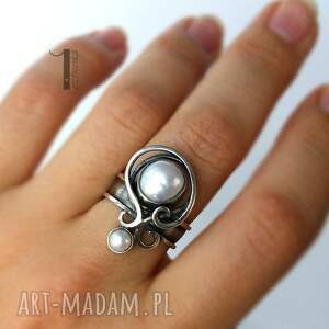 pierścionki ślub lucanus i - srebrny pierścionek z