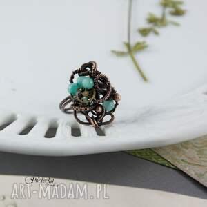 wyjątkowe pierścionek mary - steampunkowy