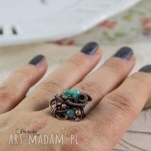 steampunk mary - pierścionek steampunkowy