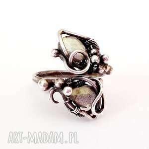 niebieskie kobiecy marzyciel - pierścionek