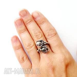 intrygujące labradoryt marzyciel - pierścionek