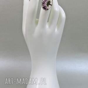 pierścionek białe 0550/ mela - stokrotka