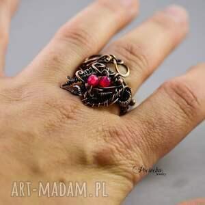 trendy pierścionki na-prezent morrigan - pierścionek z agatem