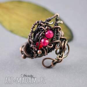 pierścionki na-prezent morrigan - pierścionek z agatem