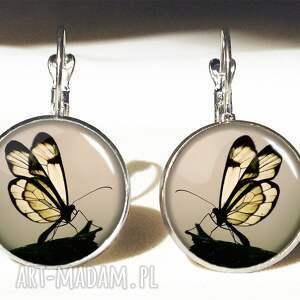 pierścionki motyl w sepii - pierścionek