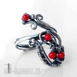 pierścionki srebro motyle srebrny pierścionek