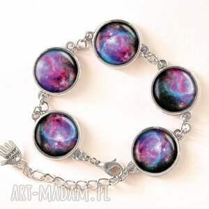gustowne pierścionki kosmiczny nebula - pierścionek regulowany