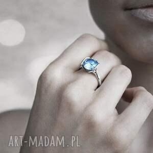 pierścionki złoto pierścionek z białego złota próby