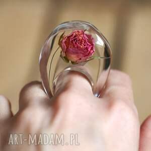 zielone pierścionki żywica pierścionek z żywicy prawdziwą