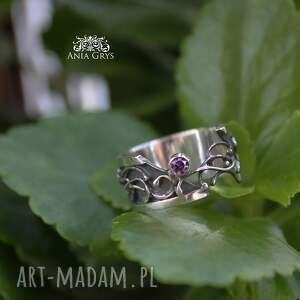 pierścionki pierścionek półotwarty z cyrkonią