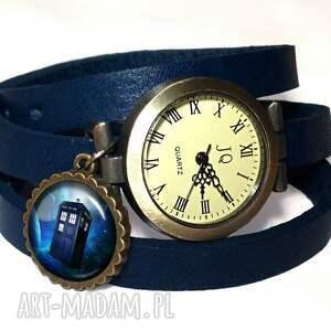 hand-made pierścionki doctor tardis - pierścionek regulowany