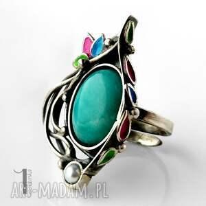 srebro primavera srebrny pierścionek