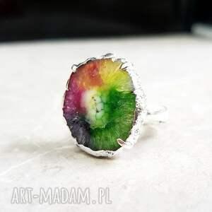 pierścionki solar radość życia pierścionek z kwarcem